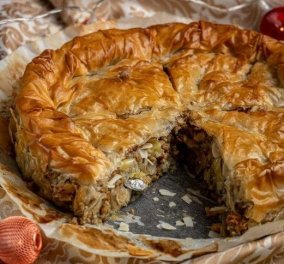 Θέλετε να φτιάξετε... αλμυρή βασιλόπιτα; Δοκιμάστε αυτή την υπέροχη συνταγή από την Αργυρώ Μπαρμπαρίγου  - Κυρίως Φωτογραφία - Gallery - Video