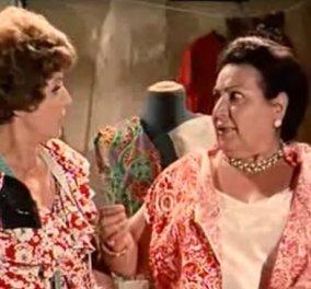 """""""Σούζυ τρως"""" Σπάνια φώτο από το backstage της αγαπημένης σκηνής -  Απίθανες η Ρένα Βλαχοπούλου με την Ρένα Πασχαλίδου  - Κυρίως Φωτογραφία - Gallery - Video"""