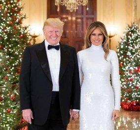 Μελάνια Τραμπ: Πώς θα ήθελα να είχα & 1 & 2 & 3 & 20 χριστουγεννιάτικα δέντρα (Φωτό)  - Κυρίως Φωτογραφία - Gallery - Video