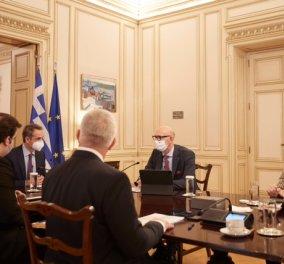 Η COSMOTE φέρνει πρώτη στην Ελλάδα το 5G - Η πρώτη βιντεοκλήση πραγματοποιήθηκε από τον Πρωθυπουργό & τον Υπουργό Επικρατείας & Ψηφιακής Διακυβέρνησης (Φωτό)  - Κυρίως Φωτογραφία - Gallery - Video