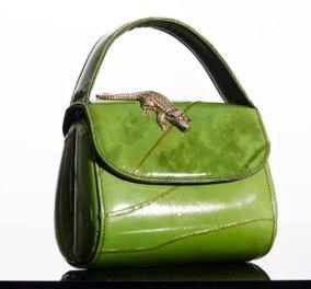 """Οι πρώτες τσάντες από φύλλο είναι γεγονός & θα τις λατρέψετε - Τις έφτιαξε η Amélie Pichard  """"μετρ"""" στα υπέροχα  αξεσουάρ - Δείτε φώτο  - Κυρίως Φωτογραφία - Gallery - Video"""