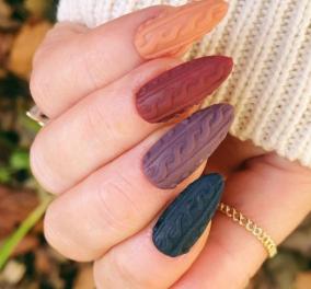 Νύχια - Χειμώνας 2021: Τα top χρώματα και 50 σχέδια για τέλειο μανικιούρ - Κυρίως Φωτογραφία - Gallery - Video