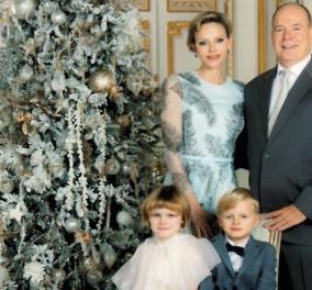 To παραμυθένιο σκηνικό της Πριγκιπικής οικογένειας του Μονακό - Σε τόνους λευκού, χρυσού & γκρι το Χριστουγεννιάτικο styling (φωτό)  - Κυρίως Φωτογραφία - Gallery - Video