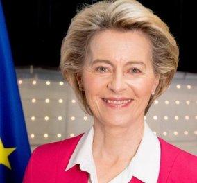 Ursula von der Leyen: «Είμαι πολύ περήφανη που εγκρίθηκε το πρώτο εμβόλιο κατά του κορωνοϊού & στην Ευρώπη» (φωτό) - Κυρίως Φωτογραφία - Gallery - Video