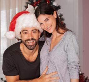 Έγκυος σε δίδυμα η Χριστίνα Μπόμπα - Τα πρώτα τους μωράκια περιμένουν ο Σάκης Τανιμανίδης & η όμορφη γυναίκα του (φωτό) - Κυρίως Φωτογραφία - Gallery - Video