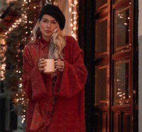 Ελληνίδες Influencers κάνουν Χριστούγεννα με στυλ: Από την Άννα Μαυρίδη & την Βάσια Κωσταρά ως την Μαρία Ηλιάκη & την Έβελυν Καζαντζόγλου (Φωτό)  - Κυρίως Φωτογραφία - Gallery - Video