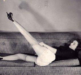 Vintage Fashion pics : 22 όμορφα κορίτσια της δεκαετίας του 50 δείχνουν πώς φοράνε τις νάιλον κάλτσες τους (φώτο) - Κυρίως Φωτογραφία - Gallery - Video