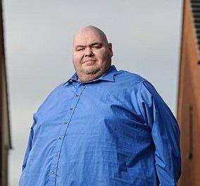 Έφυγε από την ζωή ο παχύτερος Βρετανός - Ζύγιζε 400 κιλά - Κατανάλωνε 29.000 θερμίδες & 12 κιλά σόδα (βίντεο) - Κυρίως Φωτογραφία - Gallery - Video