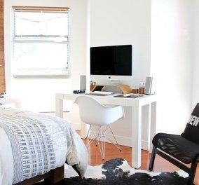 Ο Σπύρος Σούλης μας δίνει έξυπνες ιδέες: Πώς να τοποθετήσετε τα έπιπλα σε ένα μικρό υπνοδωμάτιο (φωτό) - Κυρίως Φωτογραφία - Gallery - Video