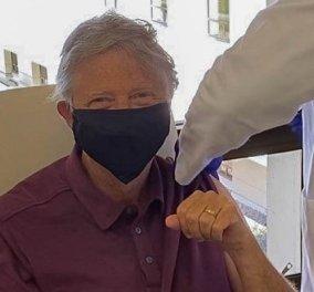 Ο Bill Gates έκανε το εμβόλιο για τον κορωνοϊό και δηλώνει: Ένα από τα προνόμια του να είσαι 65 χρονών… (φωτό) - Κυρίως Φωτογραφία - Gallery - Video