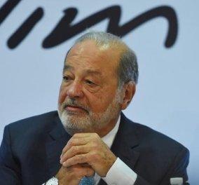 Μεξικό: Μολύνθηκε ο δισεκατομμυριούχος Κάρλος Σλιμ - Πέθανε ο σύμβουλος των επιχειρήσεών του - Κυρίως Φωτογραφία - Gallery - Video