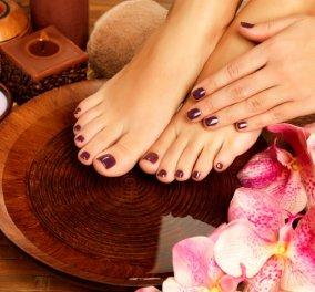 40 σχέδια και χρώματα πεντικιούρ για όμορφα νύχια ποδιών το Χειμώνα! - Iδέες ανανέωσης - Κυρίως Φωτογραφία - Gallery - Video
