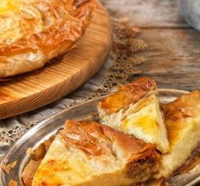 Μία απίθανη συνταγή από την Αργυρώ Μπαρμπαρίγου: Εύκολη & γρήγορη αλμυρή γαλατόπιτα με φύλλο κρούστας - Κυρίως Φωτογραφία - Gallery - Video