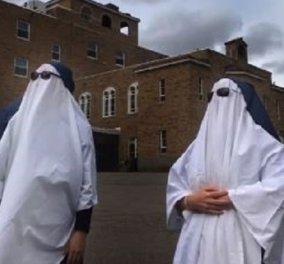 Οι «κόρες» του Αγίου Παύλου: Οι καλόγριες που έχουν πάνω από 40.000 followers στο Tik Tok - Τις ακολουθούν και οι Kardashians (βίντεο) - Κυρίως Φωτογραφία - Gallery - Video