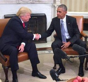 Μπαράκ Ομπάμα: Ημέρα ντροπής για την Αμερική - Η βία στο Καπιτώλιο υποκινήθηκε από τον Τραμπ - Κυρίως Φωτογραφία - Gallery - Video