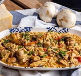 Η Αργυρώ Μπαρμπαρίγου σου έχει την πιο εύκολη και νόστιμη συνταγή - Κριθαρότο με κοτόπουλο - Κυρίως Φωτογραφία - Gallery - Video
