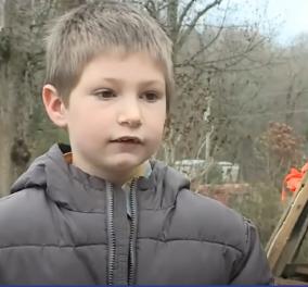 Story of the day: 7χρονο υιοθετημένο παιδάκι ρίσκαρε τη ζωή του για να σώσει την αδερφή του - Tο σπίτι τους είχε πιάσει φωτιά (βίντεο) - Κυρίως Φωτογραφία - Gallery - Video