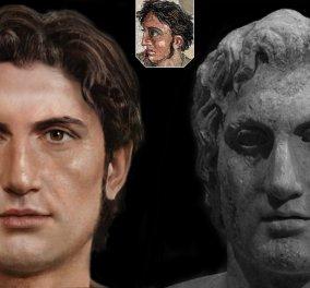 Έτσι θα ήταν ο Μέγας Αλέξανδρος, ο Σωκράτης, ο Ηρόδοτος -  ''Τρομακτικά ζωντανά'' τα πρόσωπά τους από τον αριστοτέχνη Αλεσάντρο Τομάζι (φωτό) - Κυρίως Φωτογραφία - Gallery - Video