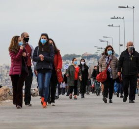 Good news - κορωνοϊός: Στο «πράσινο» πολλές περιοχές της Ελλάδας  - Κάτω του 4% το ποσοστό θετικότητας  - Κυρίως Φωτογραφία - Gallery - Video