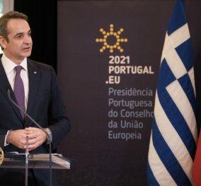 Κυρ. Μητσοτάκης από Πορτογαλία: Ελπίζουμε σε γόνιμη & παραγωγική σχέση με την Τουρκία - Θα είναι όφελος της να  αλλάξει πολιτική - Κυρίως Φωτογραφία - Gallery - Video