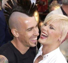 Η Pink και ο Carey Hart γιορτάζουν 15 χρόνια μαζί: Η πρόταση γάμου που του έκανε, ο χωρισμός & τα δύο παιδιά (φωτό) - Κυρίως Φωτογραφία - Gallery - Video