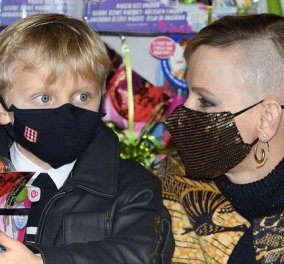 Η πριγκίπισσα Σαρλίν του Μονακό στην πρώτη της συνέντευξη για το punk κούρεμά της: «Ήθελα αλλαγή εδώ και καιρό στα μαλλιά μου, αρέσει πολύ στα παιδιά μου» - Κυρίως Φωτογραφία - Gallery - Video