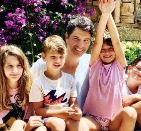 Ο Σάκης Ρουβάς εύχεται χρόνια πολλά στην μικρή του πριγκίπισσα Αριάδνη: Να είναι η ζωή σου πάντα φωτεινή (φωτό) - Κυρίως Φωτογραφία - Gallery - Video