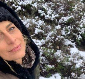 Μια Ελληνίδα πριγκίπισσα στο χιόνι! Η Τατιάνα Μπλάτνικ ενθουσιασμένη γιατί είναι στην Αθήνα και χιονίζει (φωτό) - Κυρίως Φωτογραφία - Gallery - Video