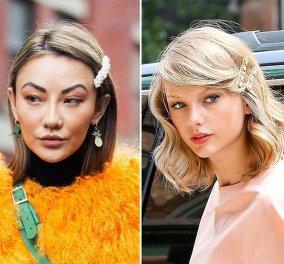 13 εντυπωσιακά χτενίσματα με hair clips: Από μακριές πλεξούδες και κότσους σε εκκεντρικά look (φωτό) - Κυρίως Φωτογραφία - Gallery - Video