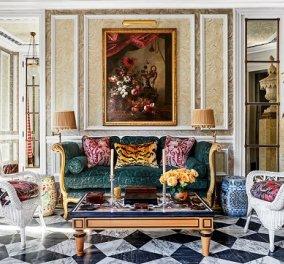 Λιλά με κόκκινο, μωβ ή ροδακινί: Υπέροχα σαλόνια με χρώμα - Για να διαλέξεις τον συνδυασμό που ταιριάζει στον χώρο σου (φωτό) - Κυρίως Φωτογραφία - Gallery - Video