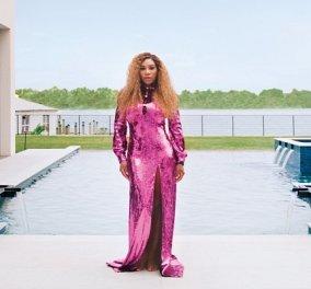 Η Serena Williams ανοίγει το σπίτι της: Μέσα στην μοντέρνα έπαυλη - Έργα τέχνης & ένα κρυφό δωμάτιο για καραόκε (φωτό & βίντεο) - Κυρίως Φωτογραφία - Gallery - Video