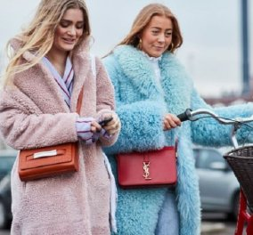 Street style: Οι ωραιότεροι συνδυασμοί για τις κρύες μέρες του χειμώνα - Κομψή & elegant & στις χαμηλές θερμοκρασίες (φώτο) - Κυρίως Φωτογραφία - Gallery - Video
