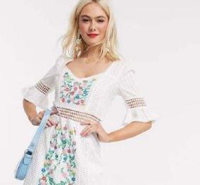 Αέρινα από μουσελίνα & μετάξι - ρομαντικά floral - ή μίνι με παγιέτες αυτά είναι τα 30 ωραιότερα φορέματα του 2021 (φώτο) - Κυρίως Φωτογραφία - Gallery - Video