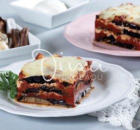 Ντίνα Νικολάου: Μια γευστική και παραδοσιακή πρόταση! Μελιτζάνες φουρνιστές με μοτσαρέλα και «ψητή» σάλτσα  - Κυρίως Φωτογραφία - Gallery - Video