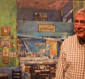 Αποχαιρετισμός στον Παύλο Σάμιο: Τον μεγάλο καλλιτέχνη - τον σπουδαίο άνθρωπο - Με την τελευταία συνέντευξη του στη Λένα Αρώνη (φώτο-βίντεο) - Κυρίως Φωτογραφία - Gallery - Video