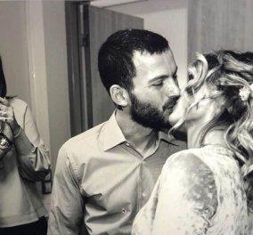 Το καυτό φιλί της Ελεονώρας Μελέτη στον άντρα της θοδωρή Μαροσούλη - «Έσκασε» μύτη την κατάλληλη στιγμή (φωτό) - Κυρίως Φωτογραφία - Gallery - Video