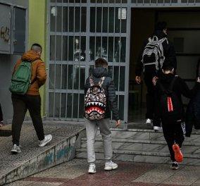 Δια ζώσης από σήμερα τα μαθήματα σε Γυμνάσια και Λύκεια - Συνεχίζεται η τηλεκπαίδευση στις «κόκκινες» περιοχές - Όλα τα μέτρα  - Κυρίως Φωτογραφία - Gallery - Video