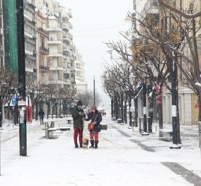 Η «Μήδεια» έντυσε στα λευκά την χώρα: Ξεκινάει η 2η φάση της κακοκαιρίας με χιόνια και στην Αττική - Δείτε live που χιονίζει τώρα (βίντεο) - Κυρίως Φωτογραφία - Gallery - Video