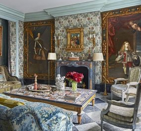 Ένα σπίτι όνειρο στην Σεβίλλη: Ο μαξιμαλισμός στο απόγειό του - Ένας λεοπάρ καναπές και πίνακες του 17ου αιώνα (φωτό) - Κυρίως Φωτογραφία - Gallery - Video