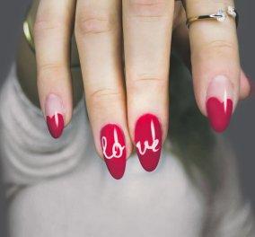 Valentine's Nails: 35 ιδέες για ρομαντικά μανικιούρ που θα εντυπωσιάσουν - H πιο ερωτική ημέρα του χρόνου πλησιάζει!  - Κυρίως Φωτογραφία - Gallery - Video