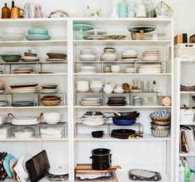 Τέλειες ιδέες από τον Σπύρο Σούλη: Πώς να δημιουργήσετε αποθηκευτικούς χώρους σε ένα σπίτι χωρίς ντουλάπια - Κυρίως Φωτογραφία - Gallery - Video