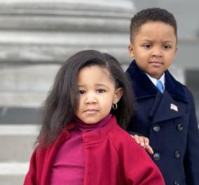 Τα αξιολάτρευτα παιδάκια που μιμήθηκαν τον Μπαράκ και τη Μισέλ Οbama στην ορκωμοσία Μπάιντεν- Η πρώην Πρώτη Κυρία τους ανέβασε στο instagram της (φωτό)  - Κυρίως Φωτογραφία - Gallery - Video