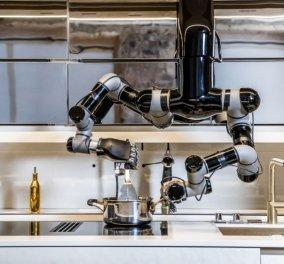 Γεύσεις απ' το μέλλον: Την λένε Moley Kitchen είναι ρομπότ & είναι έτοιμη να σας ετοιμάσει το βραδινό φαγητό - Χέρι βοηθείας αξίας.... (φώτο-βίντεο)  - Κυρίως Φωτογραφία - Gallery - Video