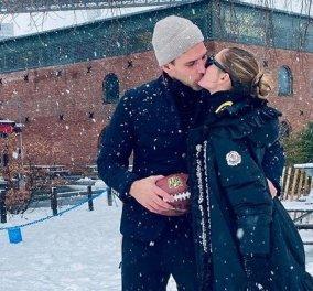 Όταν το χιόνι στη Νέα Υόρκη σκεπάζει τα πάντα… η διάσημη Ιταλίδα influencer Olivia Palermo & το μανεκέν - σύζυγός της κάνουν σικ εμφάνιση (φωτό & βίντεο) - Κυρίως Φωτογραφία - Gallery - Video