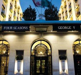 Παρίσι: Το βίντεο με την «συγκλό» σουίτα του ξενοδοχείου Four Seasons George V με διακόσμηση για τον Άγιο Βαλεντίνο - Η φαντασίωση επιτρέπεται σήμερα - Κυρίως Φωτογραφία - Gallery - Video