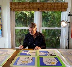 Τι κοινό έχουν ο Pierce Brosnan, ο Anthony Hopkins και ο Jim Carrey; Την ζωγραφική - 5 διάσημοι και τα έργα τέχνης τους (φωτό) - Κυρίως Φωτογραφία - Gallery - Video