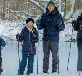 Σκι έκαναν πριν από 3 μέρες στα βουνά της Σουηδίας η πριγκίπισσα Βικτώρια, ο σύζυγος και τα παιδιά τους (φωτό) - Κυρίως Φωτογραφία - Gallery - Video