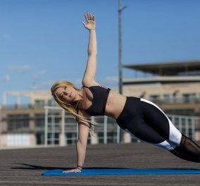 Η Μαρία Μαραγιάννη δείχνει στο eirinika 3 ασκήσεις Pilates για σμιλεμένους κοιλιακούς - Μπορείς να τις κάνεις στο σπίτι ή έξω (φωτό) - Κυρίως Φωτογραφία - Gallery - Video