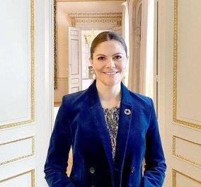 Με εντυπωσιακό κολιέ & μαύρο ζιβάγκο  η Πριγκίπισσα Βικτώρια άνοιξε την εβδομάδα μόδας στη Σουηδία - Είμαι περήφανη για τους Σουηδούς σχεδιαστές (φώτο -βίντεο) - Κυρίως Φωτογραφία - Gallery - Video