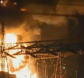 Εκρηξη στο ΚΥΤ Ασπροπύργου: Βυθίστηκε στο σκοτάδι η μισή Αττική - Τι συνέβη; (φωτό - βίντεο)  - Κυρίως Φωτογραφία - Gallery - Video